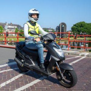 scooterrijbewijs halen bij verkeersschool tilburg